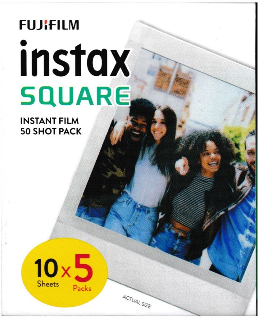 FUJIFILM Instax Film Square – 50 snímků