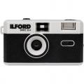 ILFORD Sprite 35-II černý/stříbrný, analogový fotoaparát, fix-focus (31mm / 9.0)