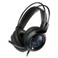 Omega VARR RGB herní sluchátka s mikrofonem 2x3,5mm černé VH8020