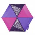 Dětský skládací deštník, růžová/ fialová/ modrá