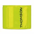 Thomson sluchátka s mikrofonem EAR5205 Flex, silikonové špunty, klip, šedá/oranžová