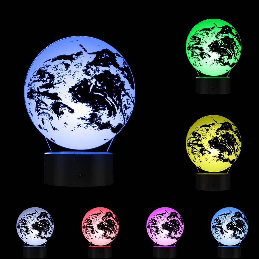 3D lampa Earth