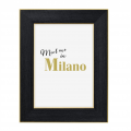 Hama portrétový rámeček plastový MILANO, 10x15 cm, černá